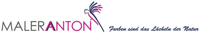 Logo Maler Anton